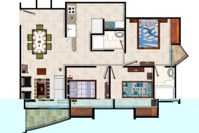 Pereira rea metro gu a de proyectos en dosquebradas for Disenador virtual de habitaciones