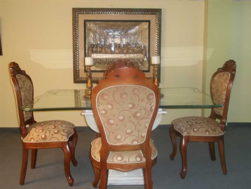 Muebles portobello for Comedor luis quince